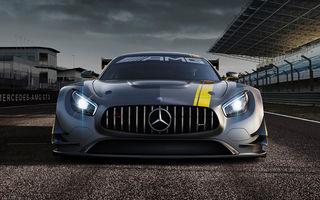 De șosea, dar numai bun pentru circuit: Mercedes-AMG GT va primi o versiune de 570 CP inspirată din AMG GT3