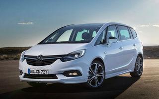 Facelift adânc dedicat familiei: Opel Zafira se înnoiește și se apropie estetic de noua generație Astra