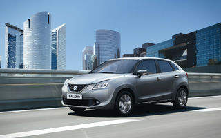Suzuki Baleno costă 11.000 de euro în România și țintește clienții lui Ford Fiesta și Volkswagen Polo