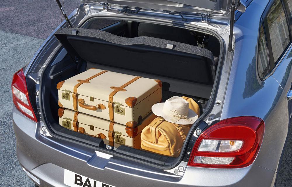Suzuki Baleno costă 11.000 de euro în România și țintește clienții lui Ford Fiesta și Volkswagen Polo - Poza 10