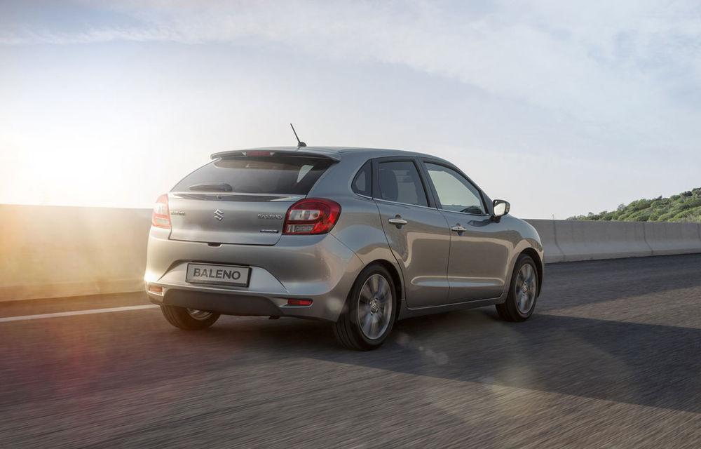 Suzuki Baleno costă 11.000 de euro în România și țintește clienții lui Ford Fiesta și Volkswagen Polo - Poza 6