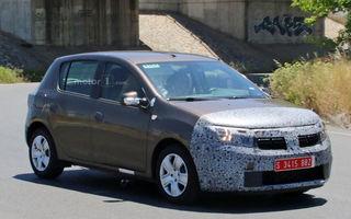 Logan și Sandero, pregătite de facelift: Dacia testează noile modele camuflate