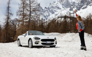 O decapotabilă promisă pentru iarnă: Fiat 124 Spider ajunge în România abia în decembrie