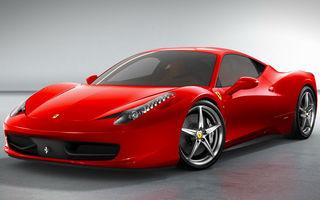 Blestemul airbagurilor defecte nu iartă nici supercarurile: Ferrari va rechema în service California și 458 Italia