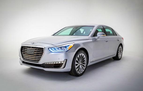 """Amânare pe termen nelimitat: Genesis, brandul premium Hyundai, va sosi în Europa după 2019: """"Nu avem încă o gamă potrivită de modele"""" - Poza 1"""