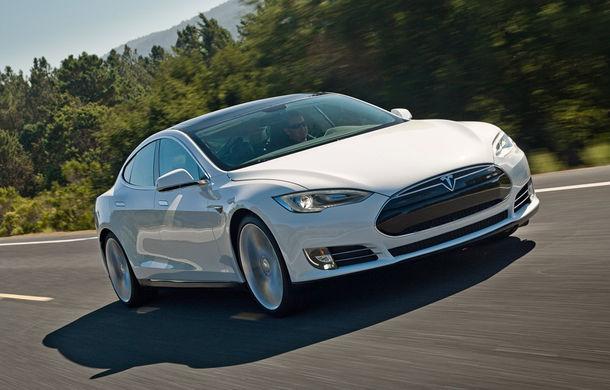 În grafic pentru viitorul Model 3: producţia maşinilor Tesla a depăşit pentru prima oară 2.000 de unităţi pe săptămână - Poza 1