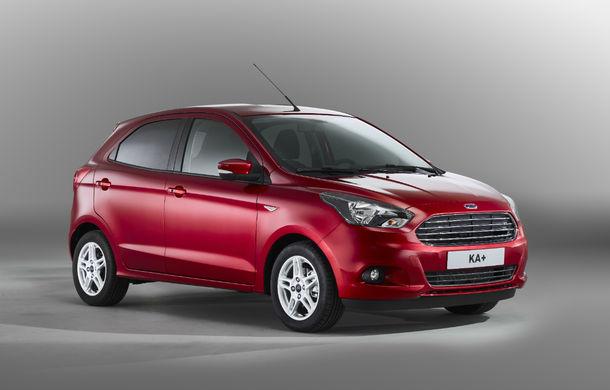 Ford schimbă strategia pentru clasa mini şi subcompactele din Europa: Ka+ devine model de bază, iar Fiesta va fi mai bine echipată - Poza 1