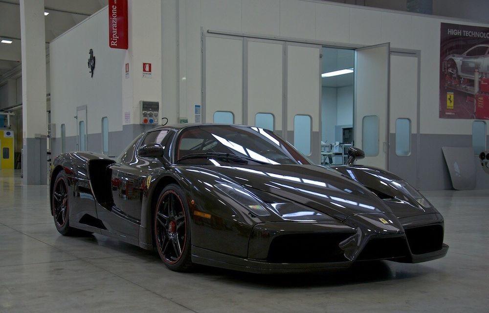 Cel mai scump Ferrari Enzo nu este nici măcar vopsit: exemplarul se vinde cu trei milioane de euro - Poza 7