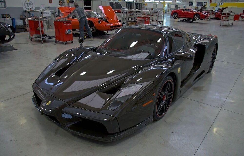 Cel mai scump Ferrari Enzo nu este nici măcar vopsit: exemplarul se vinde cu trei milioane de euro - Poza 20