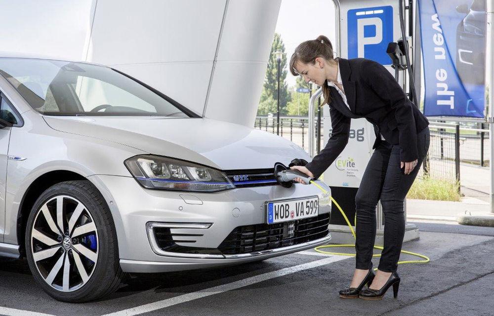 Încă o reţea publică de puncte de încărcare pentru maşini electrice: hypermarketul Cora inaugurează primele două staţii, urmează alte nouă - Poza 1