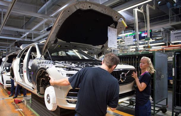Volvo a născut primul V90 destinat clienților și așteaptă un nou record de vânzări - Poza 5