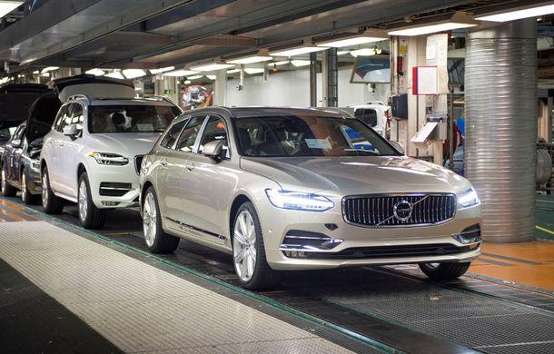 Volvo a născut primul V90 destinat clienților și așteaptă un nou record de vânzări - Poza 3