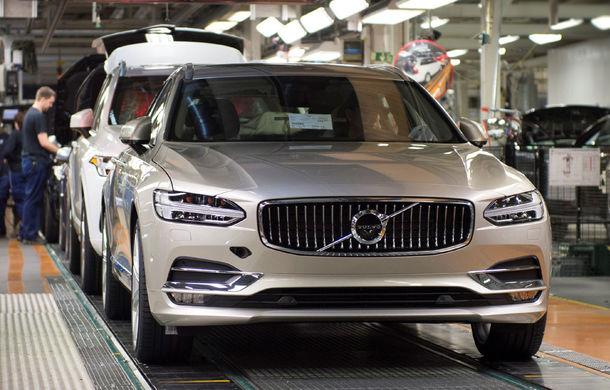 Volvo a născut primul V90 destinat clienților și așteaptă un nou record de vânzări - Poza 1
