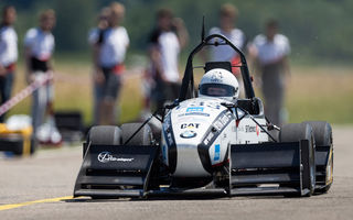Cea mai rapidă maşină electrică din lume: studenţii elveţieni au creat un monopost care ajunge de la 0-100 km/h în numai 1.5 secunde