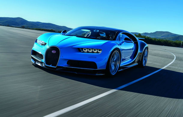 Bugatti vrea să-şi bată propriul record de viteză pe şosea: Chiron va încerca să depăşească cei 431 km/h stabiliţi de Veyron - Poza 1