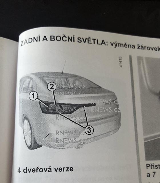Primul contact cu noul Renault Fluence: schițele din manualul tehnic trădează formele viitorului Megane Sedan - Poza 3