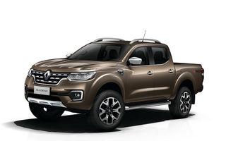 Afaceri de familie: Renault lansează Alaskan, un pick-up înrudit cu Nissan Navara