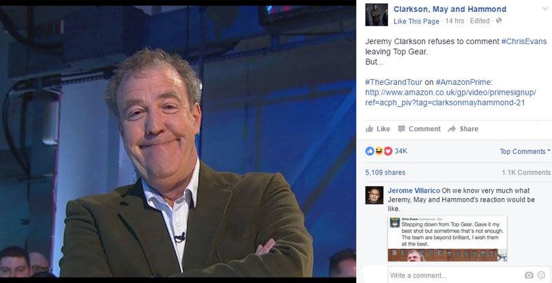 Echipa Top Gear își pierde liderul: Chris Evans demisionează pe fondul unor audiențe slabe. Reacția fanilor lui Clarkson - Poza 2