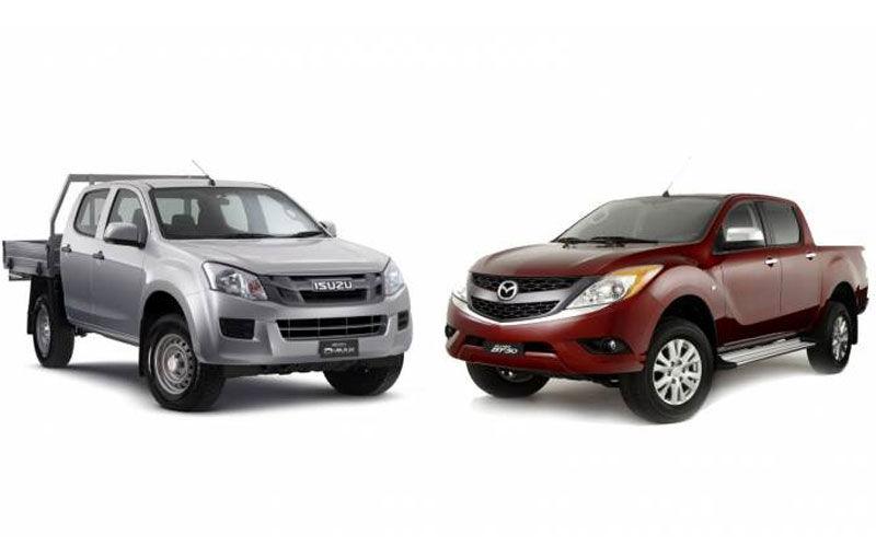 O nouă înrudire auto: Viitoarele generații Isuzu D-Max și Mazda BT-50 vor fi construite din același aluat - Poza 1
