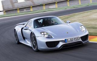 Cum arată o problemă la Porsche: marca germană recheamă în service supercar-ul 918 Spyder pentru că a inversat poziția unor șuruburi