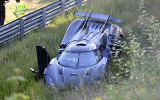 Nurburgring-ul mai face o victimă: cea mai scumpă mașină care face accident pe circuitul german costă 2.8 milioane de euro