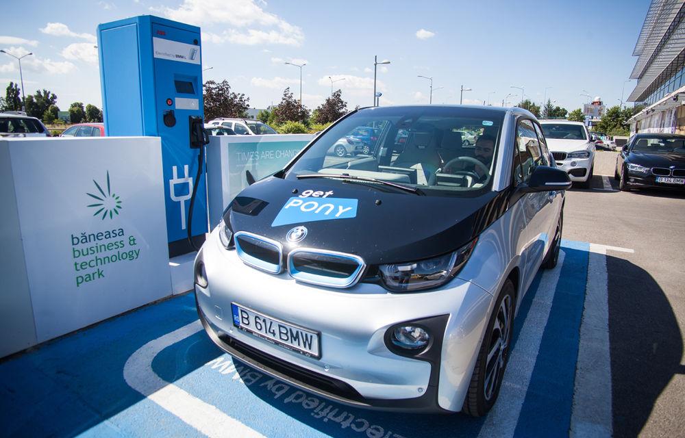 Un nou impuls pentru maşinile electrice în Bucureşti: serviciu de car sharing cu 15 unităţi BMW i3 şi staţie de încărcare de 50 kW - Poza 1
