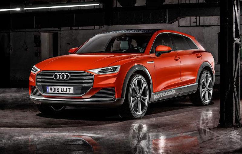"""Detalii despre viitorul Audi Q8: """"SUV-ul va fi expresia absolută a luxului, alături de A8"""" - Poza 1"""