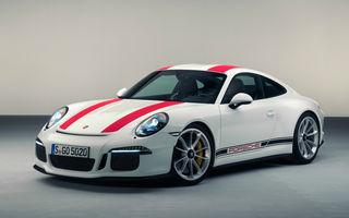 Porsche 911R este o mașină de colecție încă din showroom: oferte de 1.2 milioane de euro pe o mașină care costă oficial 200.000 de euro