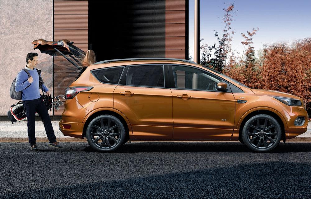 Arata ca un SUV sportiv, dar este doar o schimbare vizuală: Ford Kuga primeşte pachetul estetic ST Line - Poza 4
