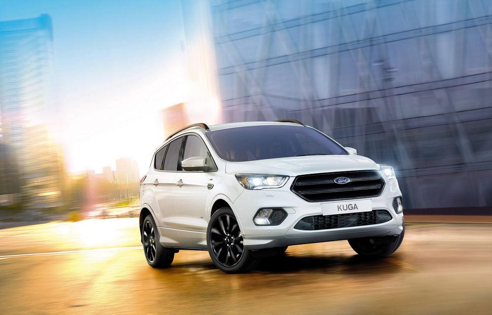 Arata ca un SUV sportiv, dar este doar o schimbare vizuală: Ford Kuga primeşte pachetul estetic ST Line - Poza 2