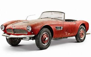 După ce a fost descoperită într-un hambar, mașina lui Elvis Presley a fost recondiționată de BMW