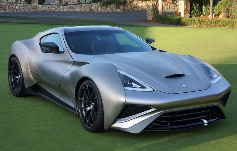 Unicitatea costă: singura mașină din lume construită din titan are un preț de 2.5 milioane de euro - Poza 1
