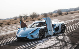 VIDEO: Koenigsegg Regera se transformă într-o adevărată mașină de fum la simpla apăsare a accelerației