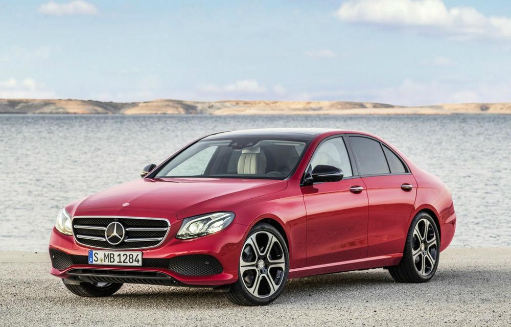 Mercedes surclasează BMW şi Audi şi îşi extinde avansul în segmentul premium în luna iulie - Poza 1