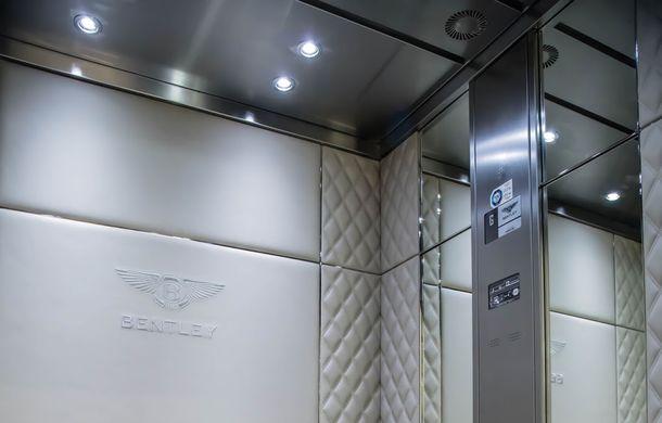 Showroom excentric pentru Bentley în Dubai: 6 etaje, 7000 de metri pătrați, grădină la ultimul etaj - Poza 7