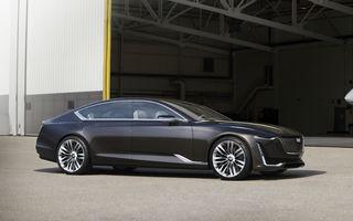 Intră sau nu în serie? Cadillac Escala Concept anunță noua filosofie de design a mărcii americane