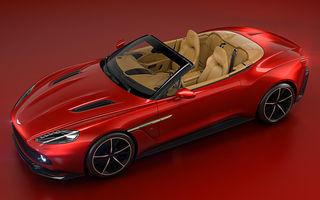O decapotabilă lansată la final de vară: Aston Martin Vanquish Zagato Volante costă 500.000 de euro