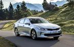 Primul Kia hibrid pe care îl poți băga în priză: Optima PHEV este un hibrid cu autonomie pur electrică de 53 de kilometri