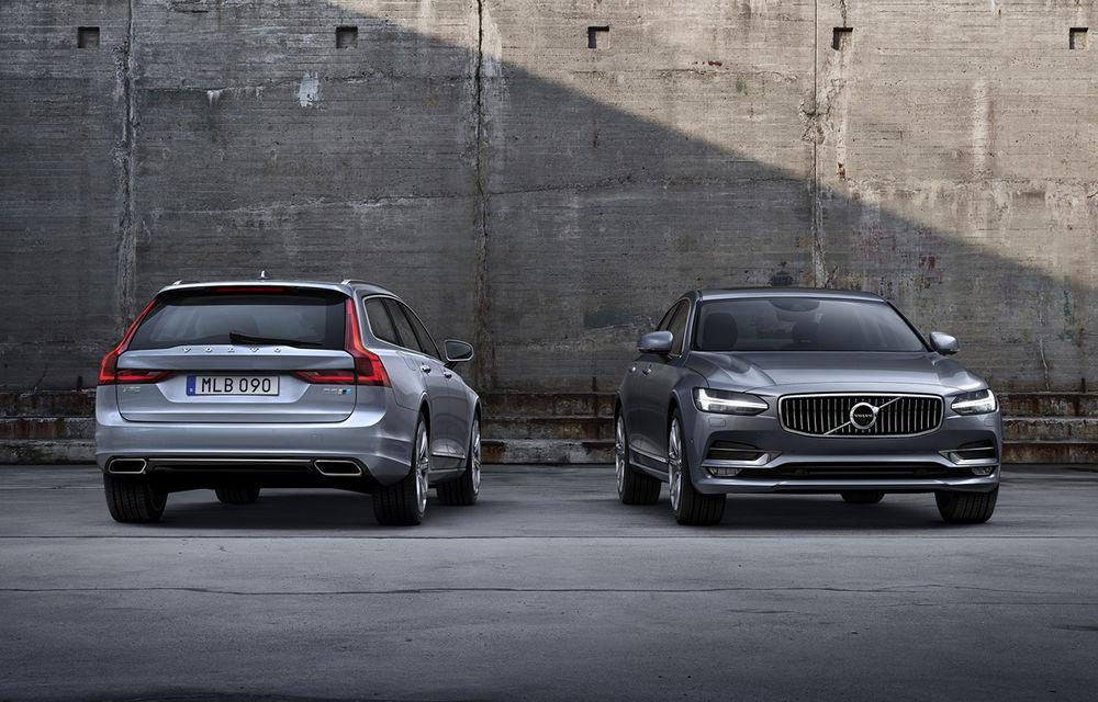 Volvo S90 şi V90 primesc pachetul de performanţă Polestar: motorul diesel de 2.0 litri ajunge acum la 240 de cai putere - Poza 1