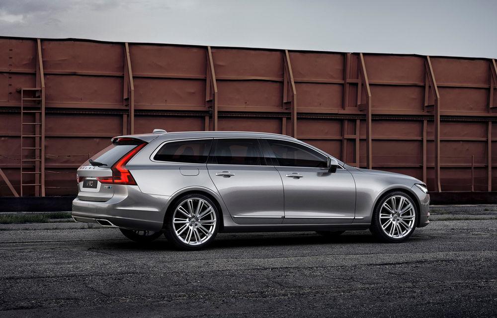 Volvo S90 şi V90 primesc pachetul de performanţă Polestar: motorul diesel de 2.0 litri ajunge acum la 240 de cai putere - Poza 4