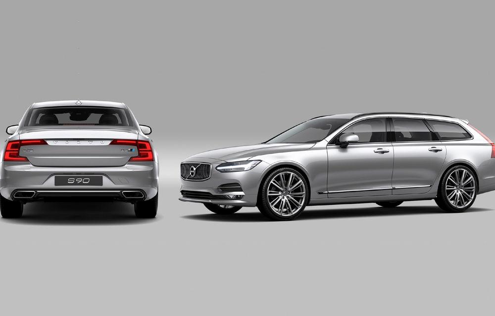 Volvo S90 şi V90 primesc pachetul de performanţă Polestar: motorul diesel de 2.0 litri ajunge acum la 240 de cai putere - Poza 2