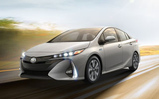 Experiment italian: 80% din distanțele parcurse în oraș de noul Toyota Prius Plug-in sunt electrice