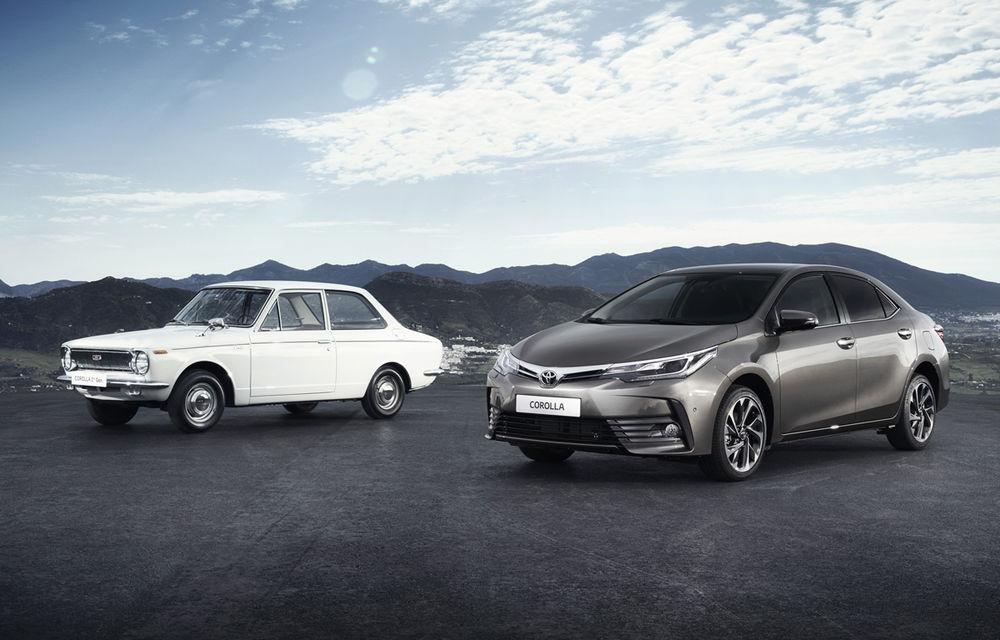 La mulți ani, Toyota Corolla! Cea mai vândută mașină din lume împlinește 50 de ani în 2016 - Poza 1