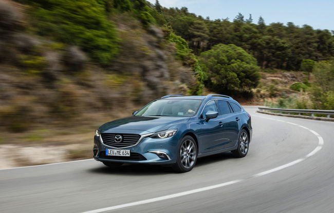 Test drive Mazda 6 Tourer facelift (2015-2018)