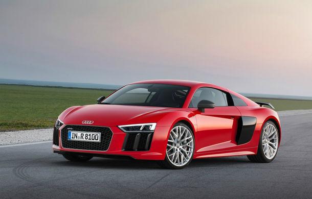Frăţia motorului: Audi R8 şi câteva versiuni de performanţă vor împrumuta unitatea twin-turbo V6 de 2.9 litri şi 440 CP de pe Porsche Panamera - Poza 1