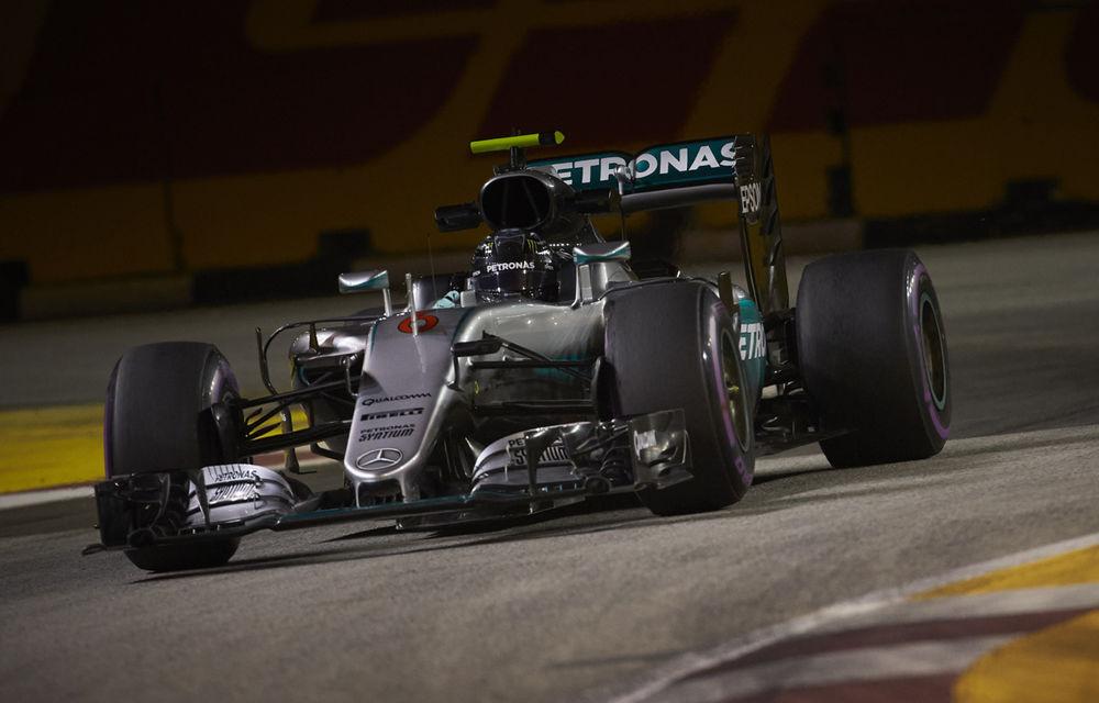 Rosberg, pole position în Singapore în faţa lui Ricciardo. Vettel, ultimul loc după o defecţiune tehnică - Poza 1