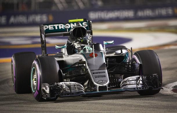 Rosberg a câștigat în Singapore și a devenit liderul clasamentului. Ricciardo și Hamilton, pe podium după o cursă de urmărire fără succes - Poza 1