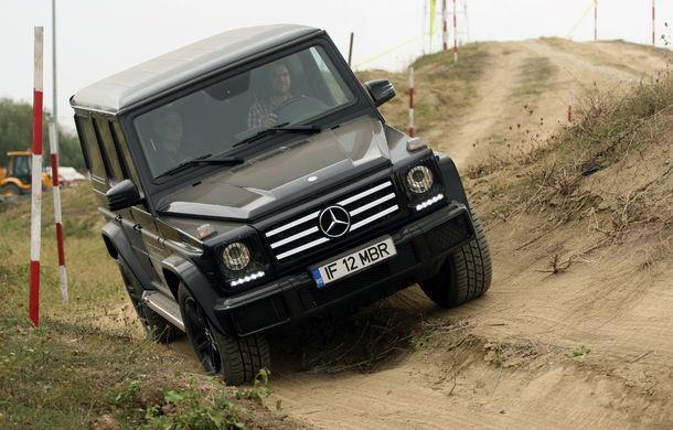 FOTOREPORTAJ: O zi cu modelele Mercedes-Benz pe circuit - Poza 9