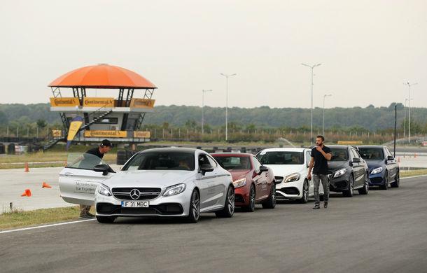 FOTOREPORTAJ: O zi cu modelele Mercedes-Benz pe circuit - Poza 12
