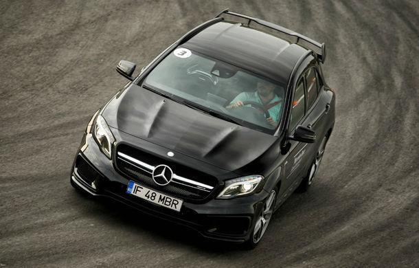 FOTOREPORTAJ: O zi cu modelele Mercedes-Benz pe circuit - Poza 10